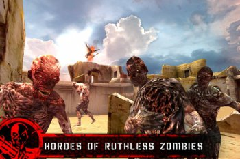 Desert Zombie Last Stand [v1.1.1, Action, iOS 3.1.3, ENG]