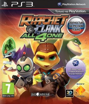 Ratchet & Clank: All 4 One [EUR/RUS] [Rip]