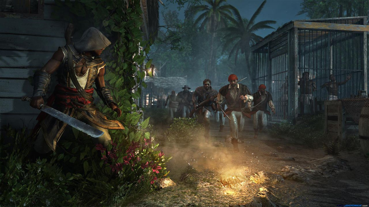 [PS3]Assassin's Creed IV: Black Flag - Freedom Cry | Крик Свободы [DLC] [RUSSOUND] [3.41/3.55/4.30+]