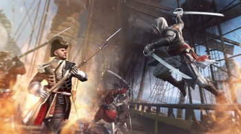 [PS3]Assassin's Creed IV [PAL] [RUSENG] [Repack] [3хDVD5]