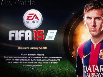 [PS3]FIFA 15 [RIP] [RUSSOUND] [4.53+]