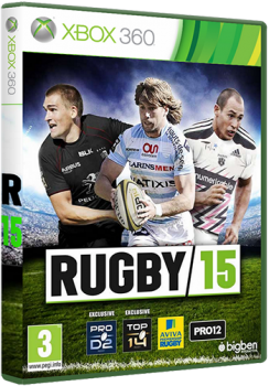 [XBOX360]Rugby 15 [PAL/RUS]