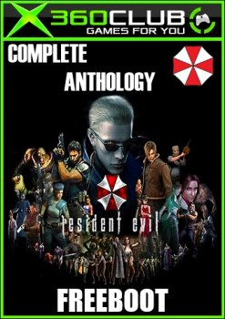 [XBOX 360] Resident Evil - Complete Anthology FreeBoot [GOD / RUS / RUSSOUND / ENG]