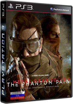 [PS3]Metal Gear Solid V: The Phantom Pain (2015) PS3