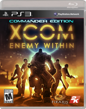 XCOM: Enemy Within - Commander Edition (2013) [FULL][RUS][RUSSOUND][L][3.55 Only]
