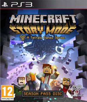 Minecraft: Story Mode - Episodes 1,2,3,4 [EUR/RUS]