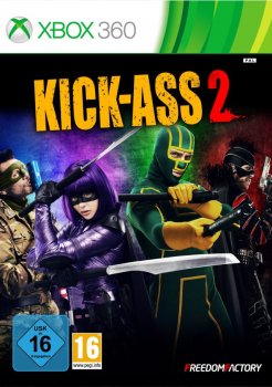 Kick-Ass 2: The Video Game (2014) [PAL][RUS][L] (LT+ 1.9) (XGD2)