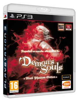 [PS3] Demon's Souls Black Phantom Edition [EUR / RUS]