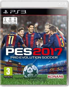 [PS3] Pro Evolution Soccer 2017 [EUR/RUS]