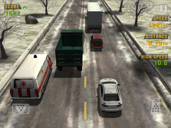 Traffic Racer [v1.7, Гонки, iOS 4.3, ENG]
