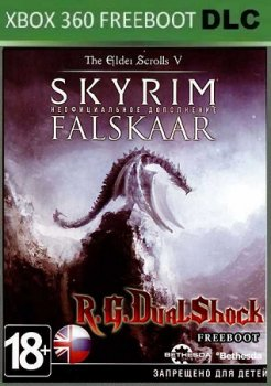 Skyrim Legendary Edition + Falskaar Xbox360 DLC