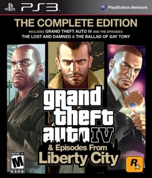 Grand Theft Auto IV: Complete Edition (2010) [PS3] [EUR] 3.42 [Cobra ODE / E3 ODE PRO ISO] [License / 1.01] [Multi]