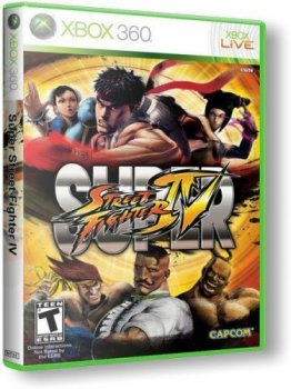 Super Street Fighter IV (2010/XBOX360/RUS) / PIR