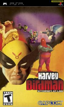 Harvey Birdman: Attorney At Law (2008/FULL/ISO/RUS) / PSP