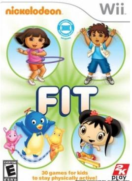 [Wii] Nickelodeon Fit [NTSC] [ENG] [2010]