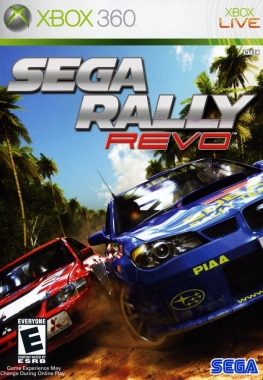 GOD Sega Rally Revo Region Free ENG