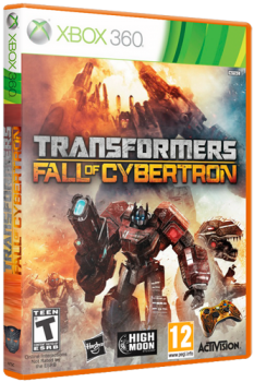 TRANSFORMERS : FALL OF CYBERTRON [REGION FREE/ENG] (XGD3) (LT+ 3.0)
