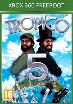 [XBOX360] Tropico 5 [Freeboot, RUS][2014, Strategy (Manage / Busin. / Real-time) / 3D]