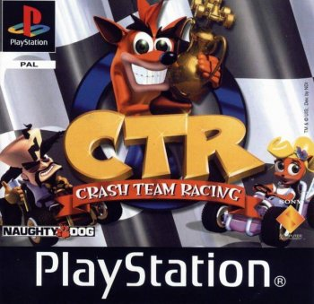 Crash Team Racing (CTR) [SCUS-94426][RGR/Vector][Full RUS]