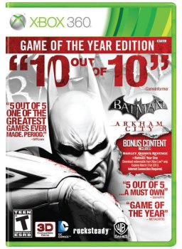 Batman: Arkham City - Game of the Year Edition (2012/XBOX360/RUS) / Лицензия
