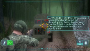 Tom Clancy's Ghost Recon: Advanced Warfighter 2 (2007/FULL/CSO/ENG) / PSP