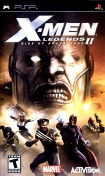 X-Men Legends II: Rise of Apocalypse (2005/FULL/ISO/RUS) / PSP