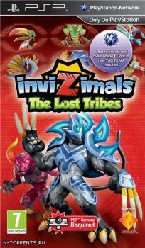 Invizimals: The Lost Tribes (2011/PSP)