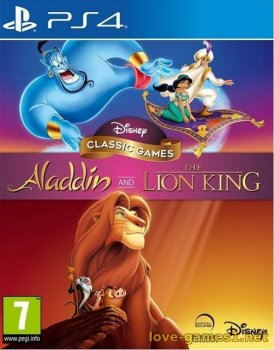 [PS4] Disney Classic Games: Aladdin and The Lion King (CUSA16975)