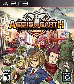 Aegis of Earth: Protonovus Assault ps3