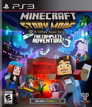 Minecraft: Story Mode - A Telltale Games Series (PS3)