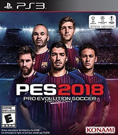 Pro Evolution Soccer 2018 ps3