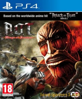 [PS4] A.O.T. / Attack on Titan Wings of Freedom [EUR/ENG] (CUSA03662)