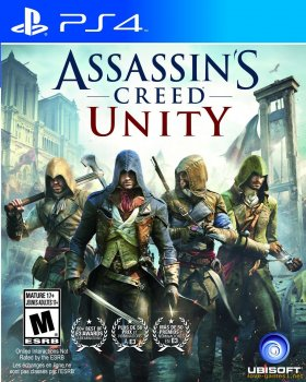 [PS4] Assassin's Creed Unity / Единство [EUR/RUS] (CUSA00606)
