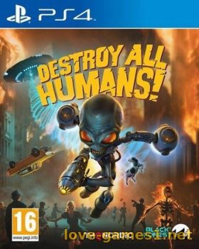 [PS4] Destroy All Humans! (CUSA14910)