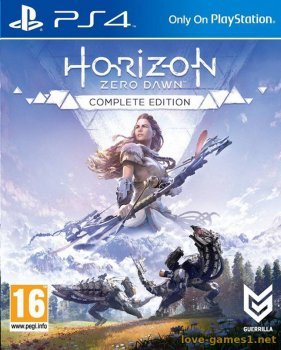 [PS4] Horizon Zero Dawn: Complete Edition [EUR/RUS] (v1.52)