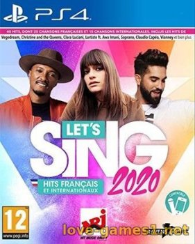 [PS4] Let's Sing 2020 (CUSA15799)