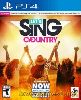 [PS4] Let's Sing Country (CUSA15815)