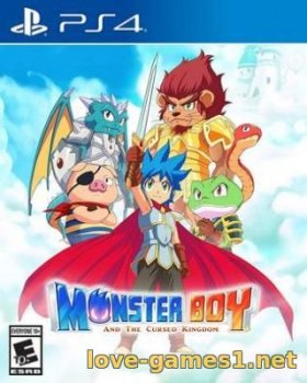 [PS4] Monster Boy and the Cursed Kingdom (CUSA05011)