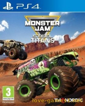 [PS4] Monster Jam Steel Titans (CUSA13260)