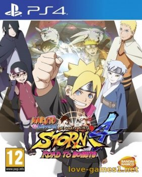 [PS4] Naruto Shippuden Ultimate Ninja STORM 4 Road to Boruto [EUR/RUS] (v1.02)