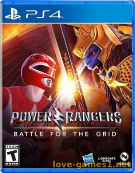 [PS4] Power Rangers: Battle For The Grid (CUSA15284)