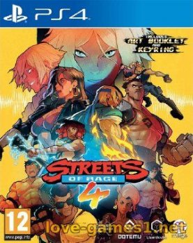[PS4] Streets of Rage 4 (CUSA16221)