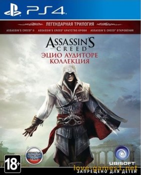 [PS4] Assassin's Creed The Ezio Collection [EUR/RUS] (v1.02)
