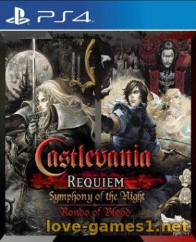 [PS4] Castlevania Requiem: Symphony of the Night & Rondo of Blood (CUSA13434)