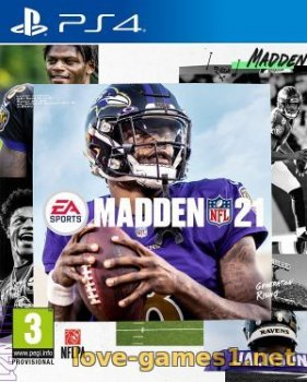 [PS4] Madden NFL 21 (CUSA17707)