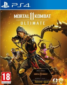 [PS4] Mortal Kombat 11 Ultimate (CUSA11379) [1.24] [7.55]