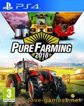 [PS4] Pure Farming 2018 PS4 (CUSA09177)
