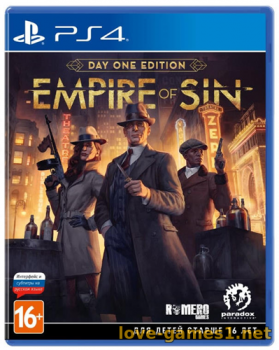[PS4] Empire of Sin (CUSA17744)