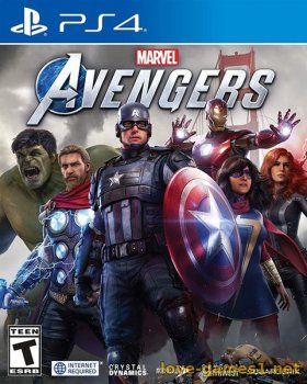 [PS4] Marvel's Avengers (CUSA14030) Русский язык