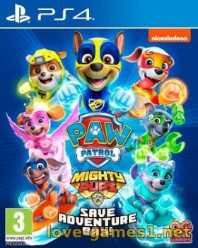{PS4] Paw Patrol Mighty Pups Save Adventure Bay